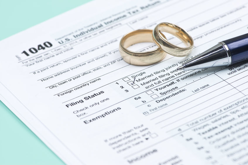 The decision process to file your taxes as married filing separately in a divorce