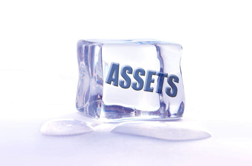 How to unfreeze frozen assets in a divorce
